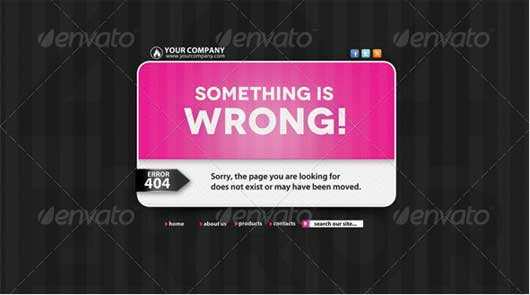 Warning Web Page 404 Error Design Resources to Get More Attention