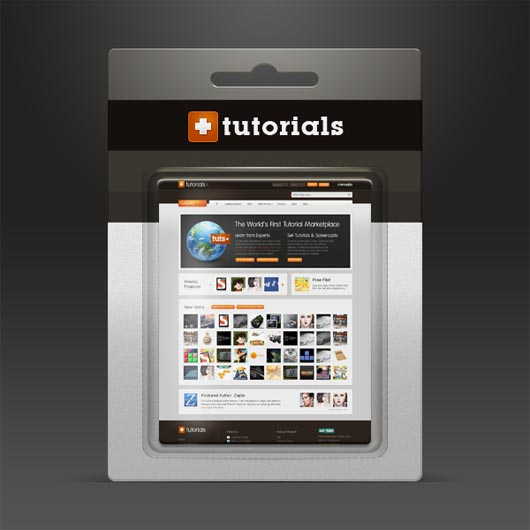 Mockup Blister Packaging in Photoshop