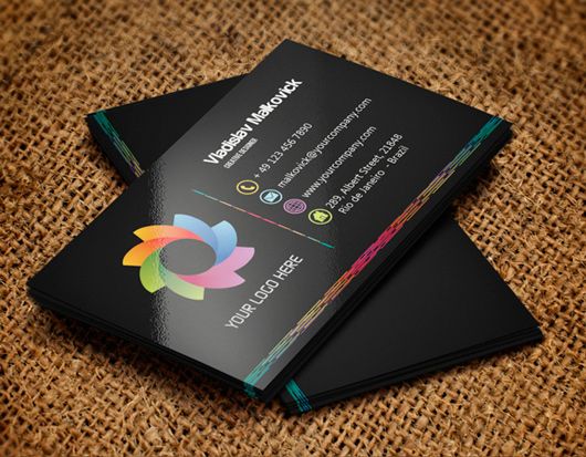 Business card designs personal business cards best business awesome dark creative business card reheart Image collections