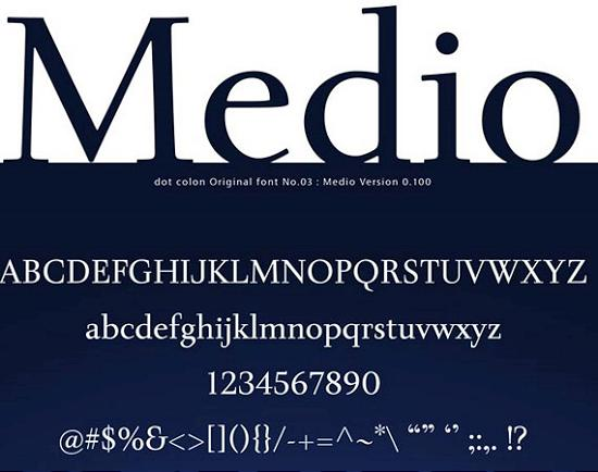 medio stout free high quality font web design Free Fonts for Developer and Designers