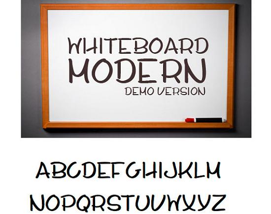 whiteboard modern demo free high quality font web design Free Fonts for Developer and Designers