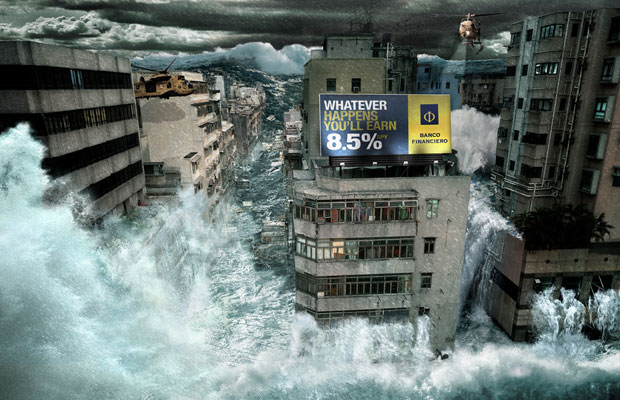 17Furious Flood o 60+ Masterpieces Of Creative Advertisements