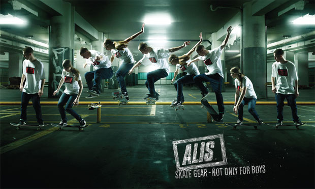 28Not Only for Boys o 60+ Masterpieces Of Creative Advertisements