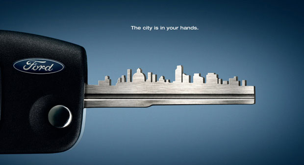 7Key Skyline o 60+ Masterpieces Of Creative Advertisements