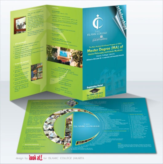Brochure for Islamic College 35 Creative Brochure Design examples for your Inspiration