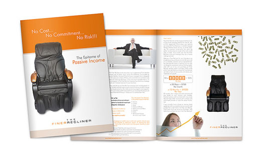 Fine Recliner Brochure Design 35 Creative Brochure Design examples for your Inspiration