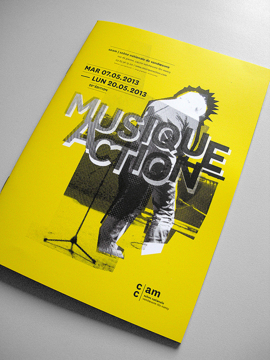 Musique Action 35 Creative Brochure Design examples for your Inspiration