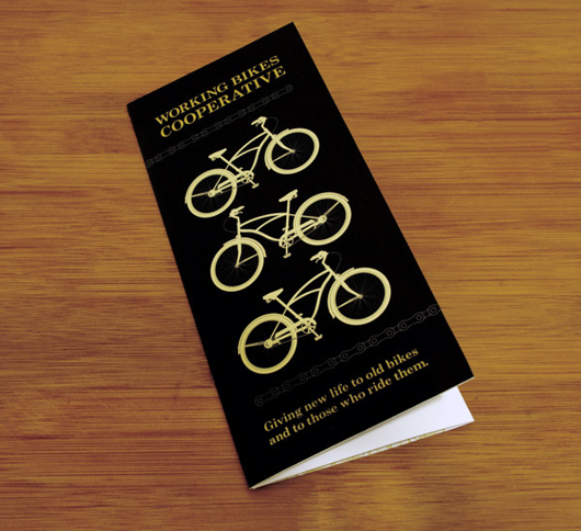Working Bikes Cooperative 35 Creative Brochure Design examples for your Inspiration