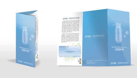 ZTME Brochure Design 35 Creative Brochure Design examples for your Inspiration