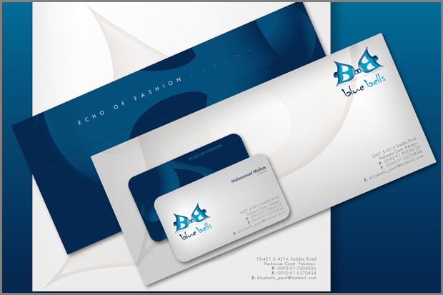 Corporate Identity Design - Blue Bells
