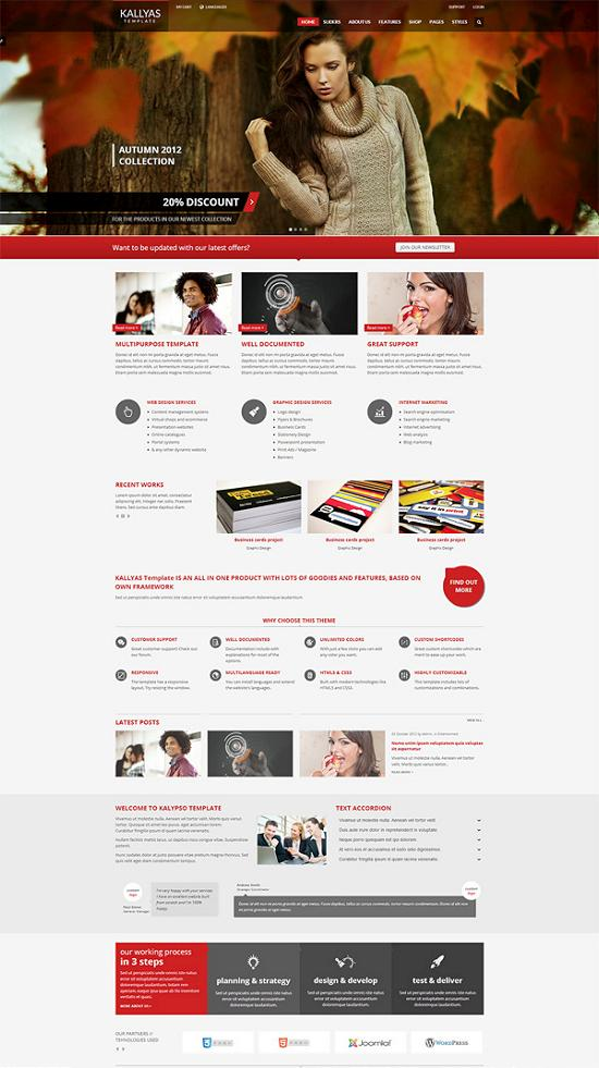 kallyas woocommerce theme A Perfect Solution for Online shop using WordPress Themes