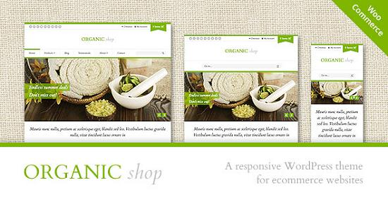 organic shop A Perfect Solution for Online shop using WordPress Themes