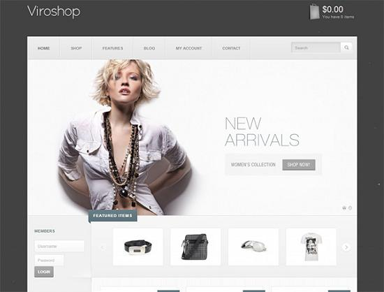 viroshop ecommerce theme A Perfect Solution for Online shop using WordPress Themes