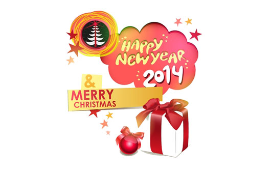 2014 Happy New Year Christmas