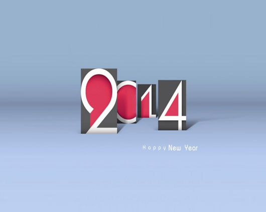 Best Wishes for Upcoming 2014 Year