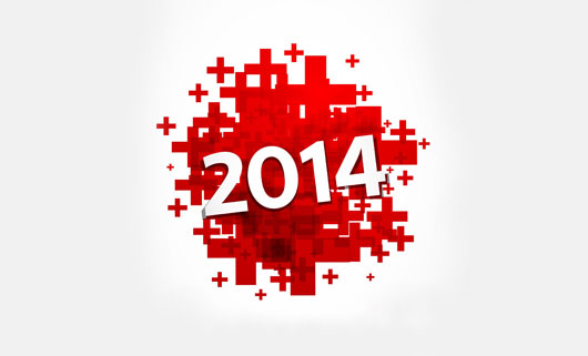 CREATIVE NEW YEAR 2014 HD PICTURE