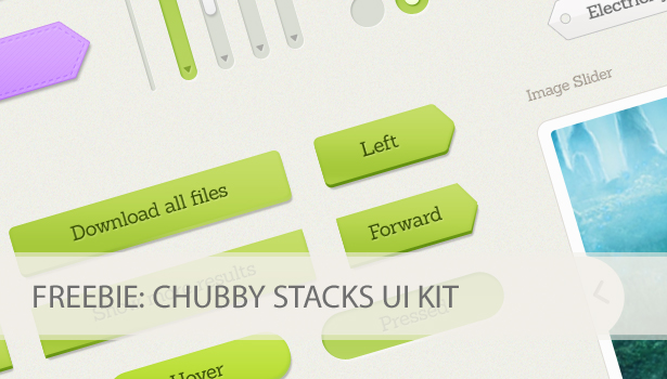Chubby Stack UI Design Kit for free