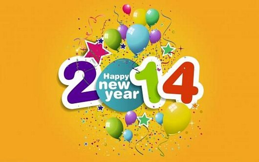 Creative Design For New Year 2014