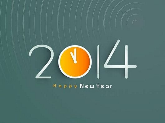 Creative Wishes For New Year 2014