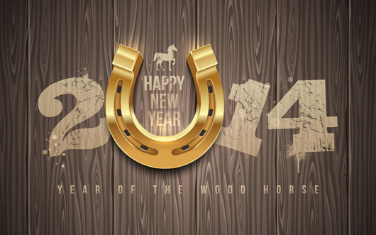 Happy New Year 2014 Year OF