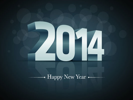 Lovely Wishes for New Year 2014