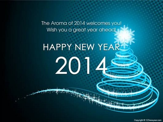 New Year 2014 Welcome Wallpaper
