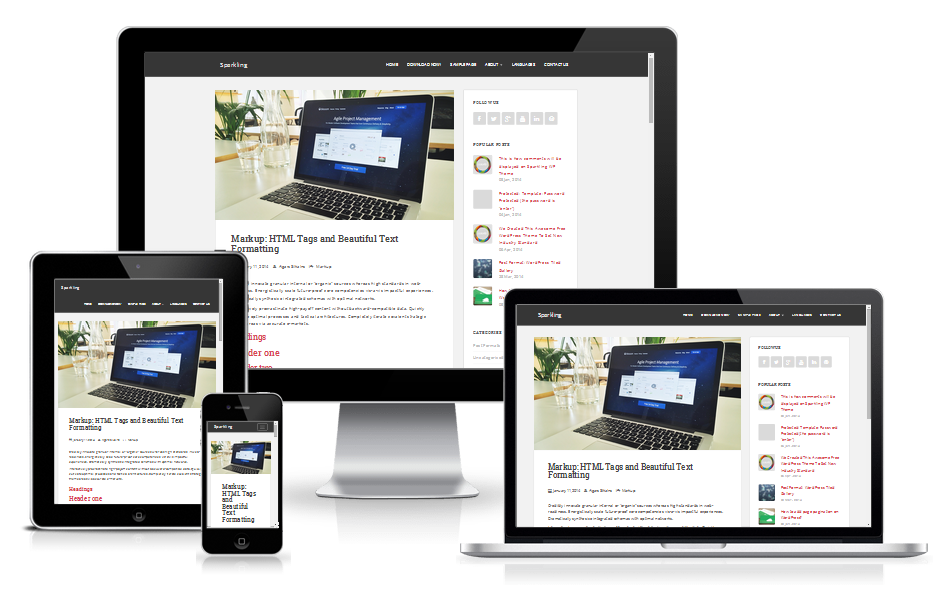 Sparkling-wp-responsive
