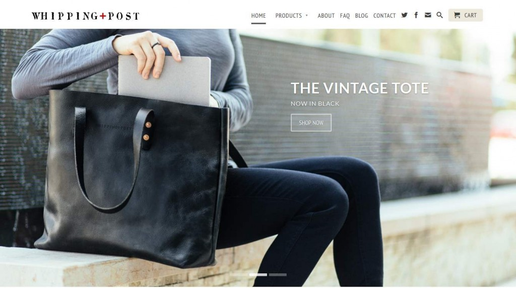 Whipping Post - eCommerce Website