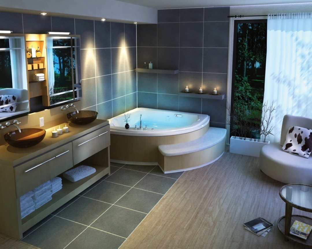 Design ideas 75 clever and unique bathroom design ideas for Bathroom decorating ideas pictures
