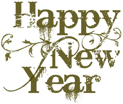 merry christmas and happy new year clip art free - photo #35