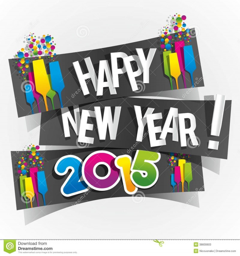 animated 3d new year cards 2015 wallpapers happy