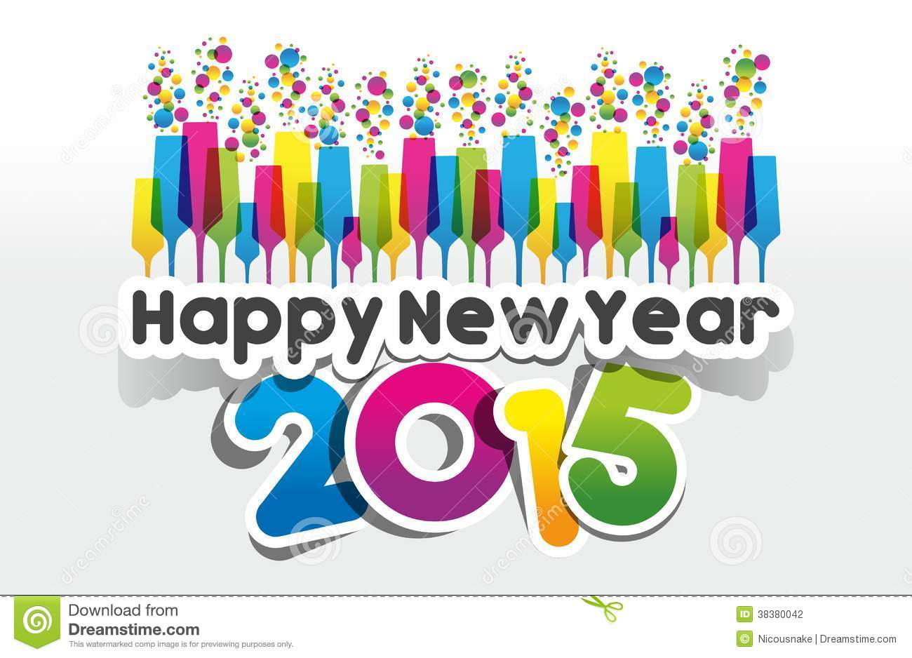 Printable New Year Card Designs For 2015 Page 5