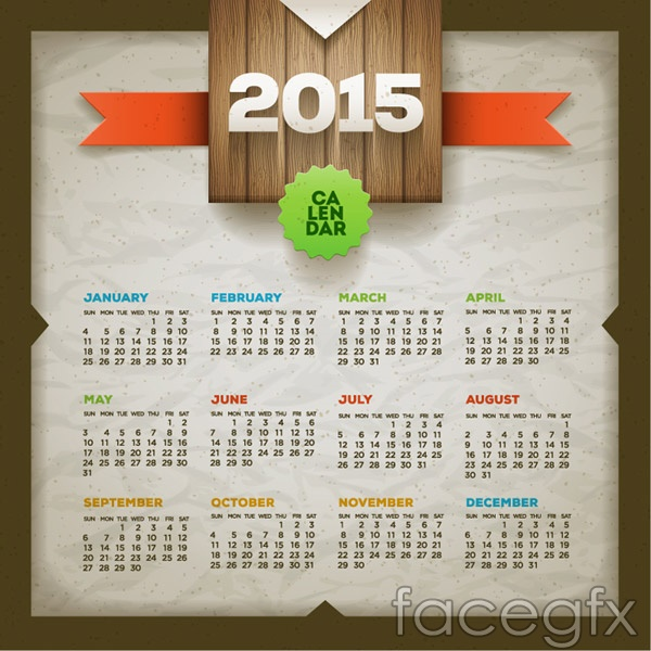 2015 Calendar Designs And Templates Page 5