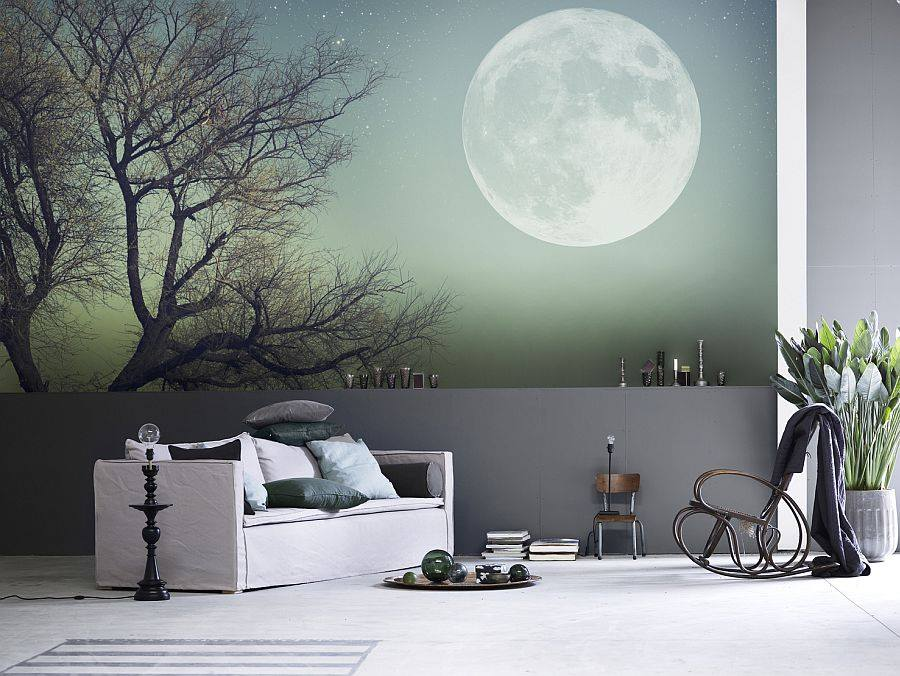 room ealing wall painting design for bedroom with purple paint