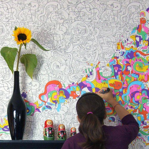 3d diy wall painting design ideas 013 designsmag