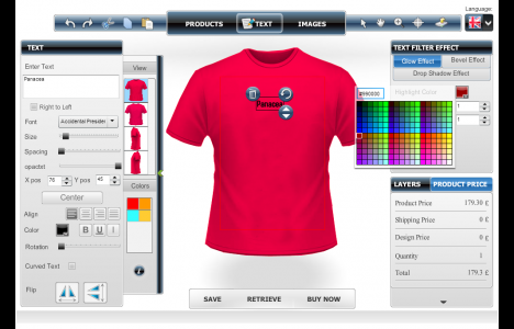 10 best online t shirt design tool companies for 2015 for Make photo t shirt online
