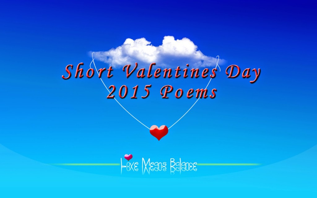 Valentine poems 2015