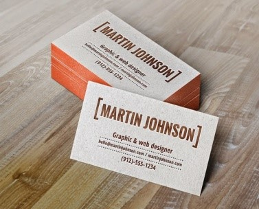 Business Card Design Templates 2015