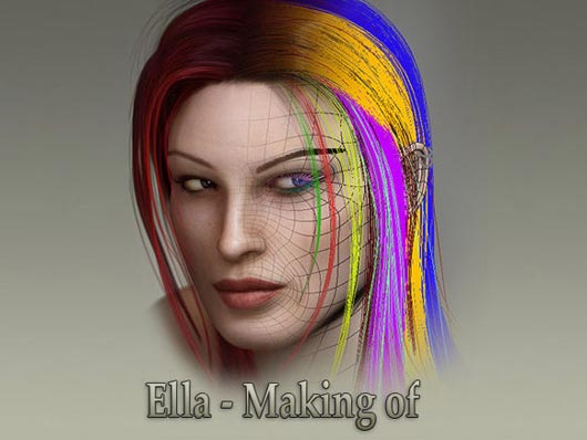 "Making of 3D Girl €"" ELLA"