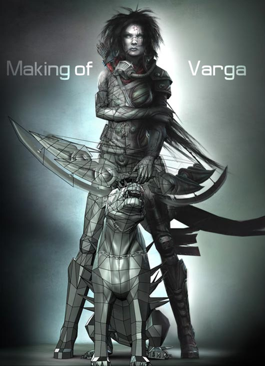 Making of Varga by Paul Tosca