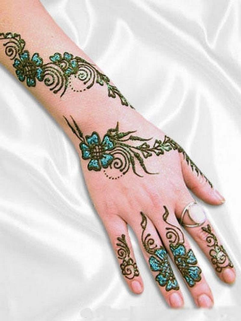 Elegant Henna Designs: Latest And Unique Henna Designs 2015