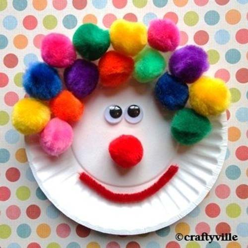 Incredible diy paper plate crafts ideas for kids for Paper plate crafts for adults
