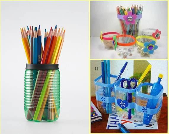 25 diy plastic bottle recycling decoration ideas for Ideas to recycle plastic