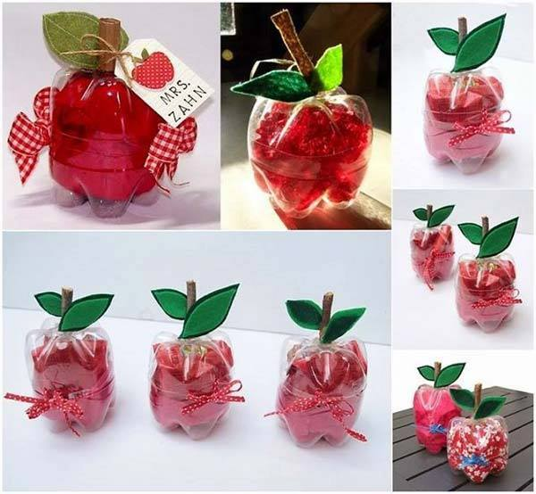 25 diy plastic bottle recycling decoration ideas for Diy plastic bottle