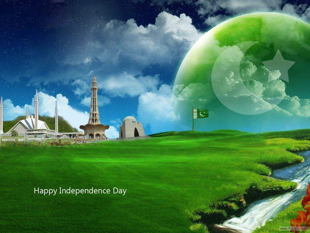 14 August Independence Day of Pakistan HD Wallpapers