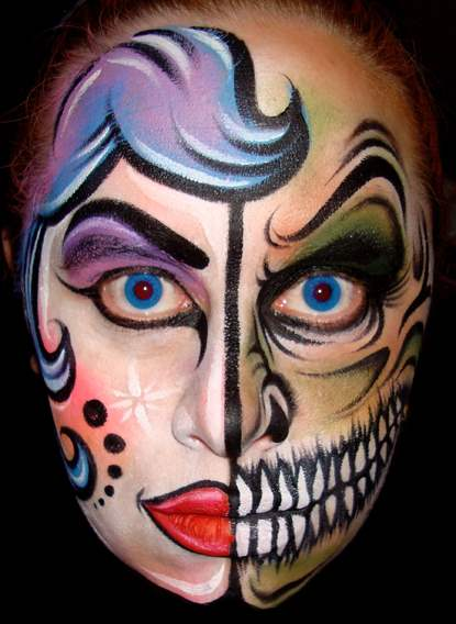 halloween face painting idea 2015 designsmag images 16
