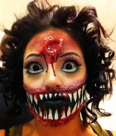Halloween face painting ideas for men women and kids - Maquillage para halloween ...