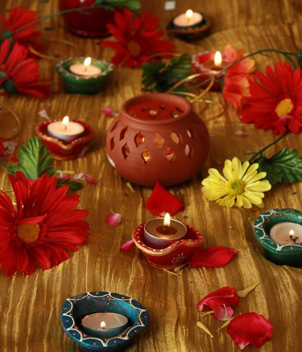 Unique diwali gift and diwali decoration ideas for 2015 for How to make diwali decorations at home