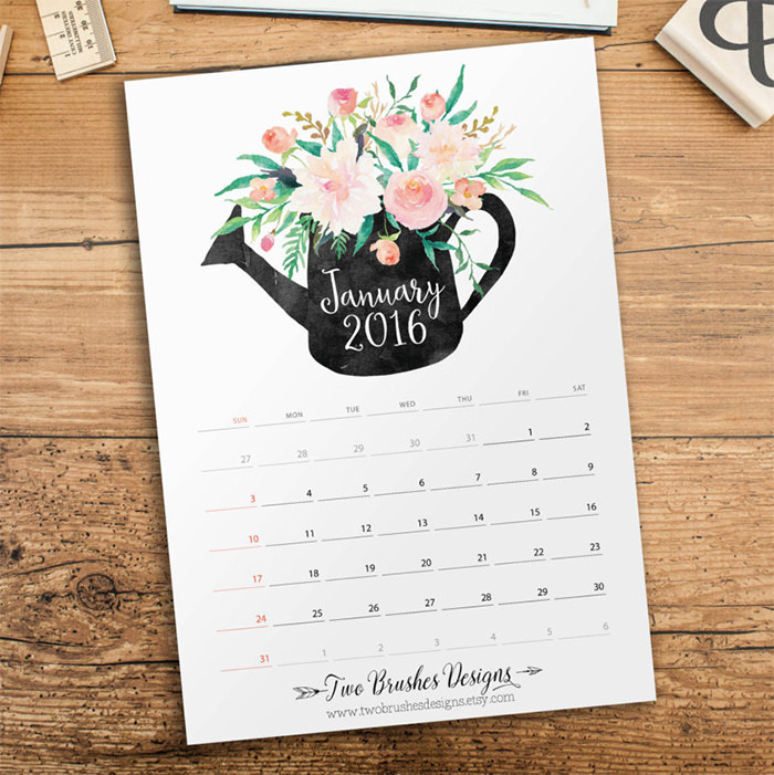 New Calendar Design : Free new year calendar designs templates page