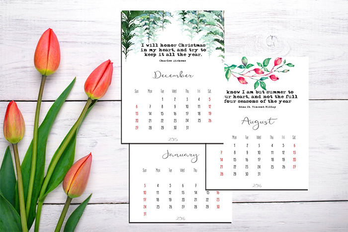 New Calendar Design Ideas : Free new year calendar designs templates page